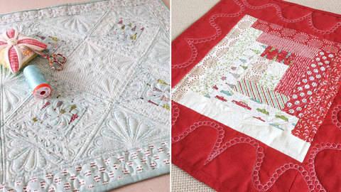Mini-Quilts - hochwertige Online-Kurse bei Makerist