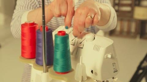Basic Course - Master Your Serger: Easy steps to serger success! - quality online courses at Makerist