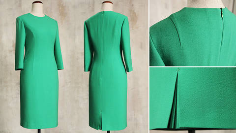 Tailor-Made: Sew A Perfect Fit Sheath Dress - quality online courses at Makerist