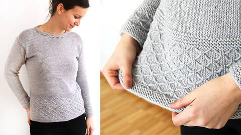 Des cours en ligne de qualité chez Makerist - Faire soi-même ses modèles de tricot - Concevoir des pulls