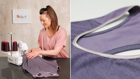 Sew a jersey top - quality online courses at Makerist
