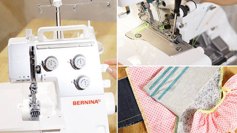 The overlock and the coverlock - quality online courses at Makerist
