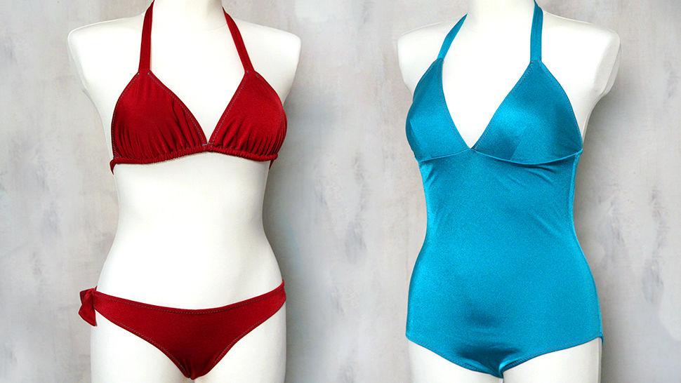 Des cours en ligne de qualité chez Makerist - Coudre soi-même son maillot de bain une pièce ou bikini  - Apprendre à coudre