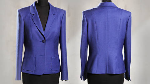Learn to sew a custom made blazer - quality online courses at Makerist