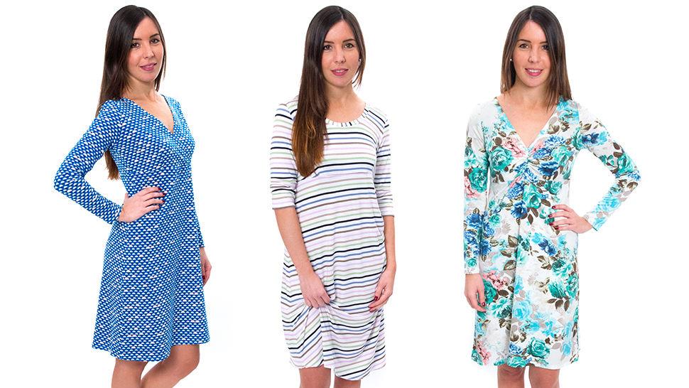 Des cours en ligne de qualité chez Makerist - Coudre une robe en moins de 3 heures - un patron de base, trois variantes (4 patrons inclus) - Apprendre à coudre