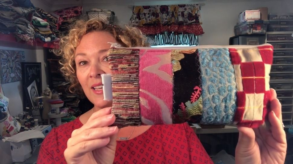 How to Sew a Patchwork Bag - Learn To Sew - quality online courses at Makerist