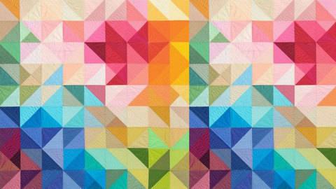 Grafische Motive quilten - hochwertige Online-Kurse bei Makerist