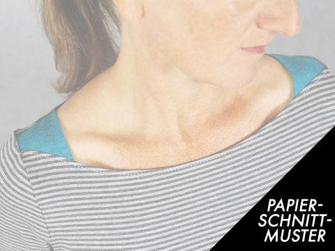 Gedrucktes Schnittmuster für: Damenshirt - FrauMarlene - Schnittmuster kaufen im Makerist Materialshop