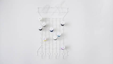 Acheter Porte-bobines métallique blanc de Snaply - Modèle Bobine-Fil-Aiguille dans la mercerie Makerist