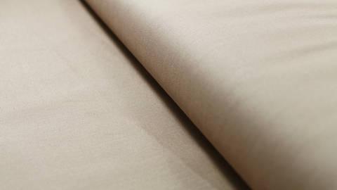 Beigefarbener Uni Baumwollstoff: Heide - 150 cm kaufen im Makerist Materialshop