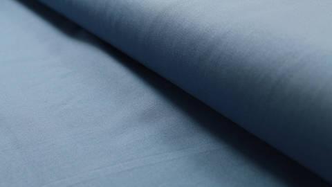 Rauchblauer Uni Baumwollstoff: Heide - 150 cm kaufen im Makerist Materialshop