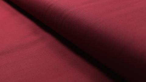 Baumwollstoff burgundy uni: Heide - 150 cm kaufen im Makerist Materialshop