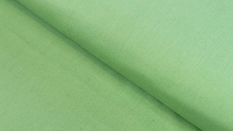 Baumwollstoff grün uni: Heide - 150 cm kaufen im Makerist Materialshop