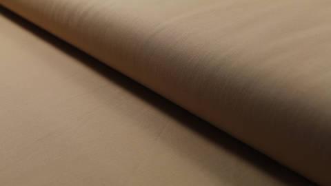 Baumwollstoff beigebraun uni: Heide - 150 cm kaufen im Makerist Materialshop