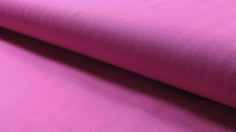Pinkfarbener Uni Baumwollstoff: Heide - 150 cm kaufen im Makerist Materialshop