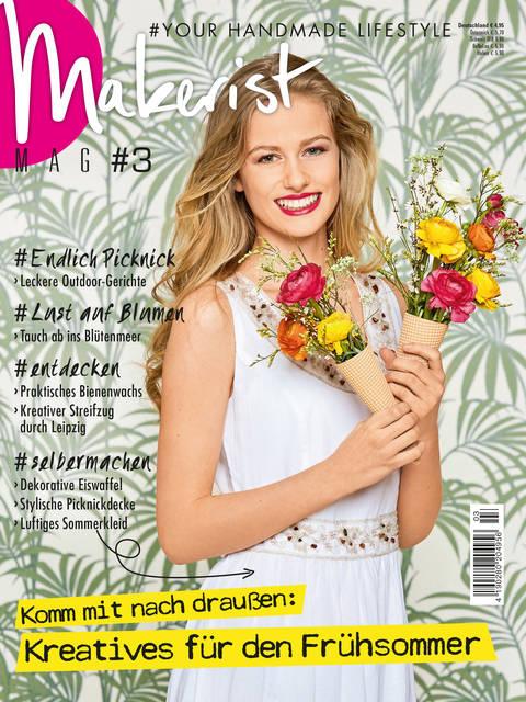 Makerist Mag #3 - Magazin für den Handmade Lifestyle kaufen im Makerist Materialshop