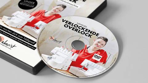DVD: Verlockende Overlock - Nähkurs mit Swantje Wendt kaufen im Makerist Materialshop