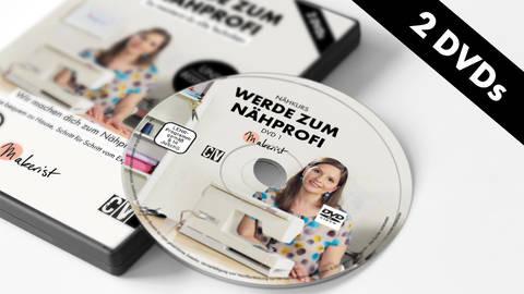 DVD: Werde zum Nähprofi - Nähkurs mit Steffi Falk - Berliner Stück kaufen im Makerist Materialshop