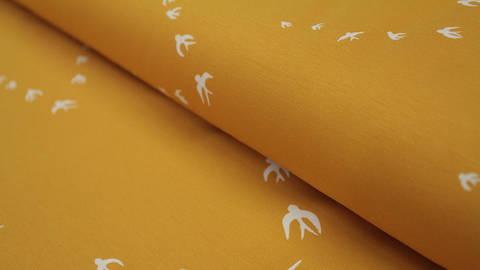 Acheter Jersey de coton jaune : Kenny - 155cm dans la mercerie Makerist