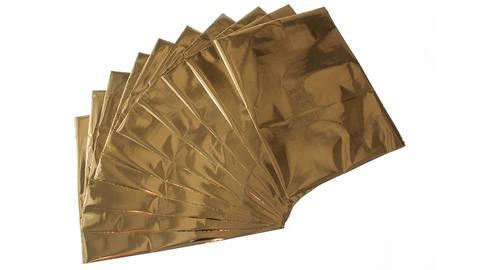 Textil Metallfolie LUXOR®/ALUFIN® TX-N 10 Stk. - gold kaufen im Makerist Materialshop