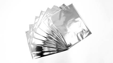 Textil Metallfolie LUXOR®/ALUFIN® TX-N 10 Stk. - silber kaufen im Makerist Materialshop