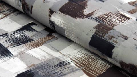 Acheter Tissu estival brun gris : Pearl Peach - 145cm dans la mercerie Makerist