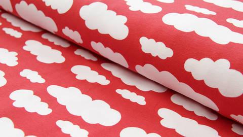 Roter Wolken Jersey: Vicente - 160 cm kaufen im Makerist Materialshop