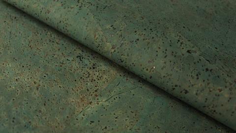 Blaugrüner Korkleder Naturprodukt: Kork - 70 cm kaufen im Makerist Materialshop