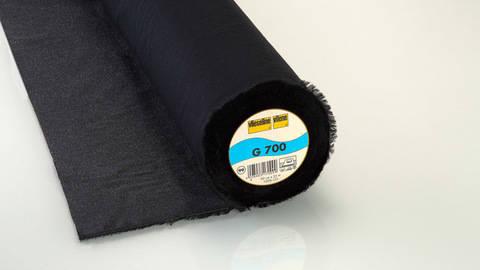 Schwarze Gewebeeinlage G700 fixierbar - 90 cm kaufen im Makerist Materialshop
