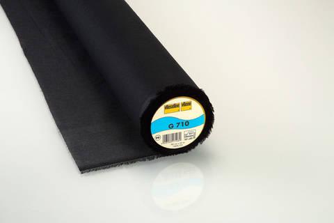 Schwarze Gewebeeinlage G710 fixierbar - 90 cm kaufen im Makerist Materialshop
