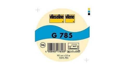 Schwarze Gewebeeinlage G785 fixierbar - 90 cm kaufen im Makerist Materialshop