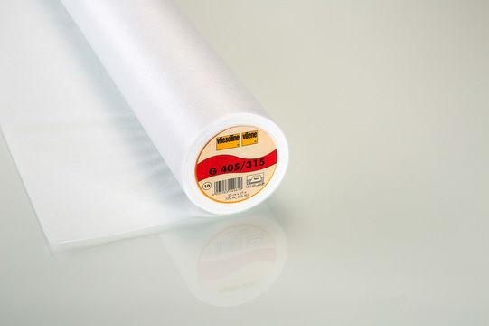 Weiße Bügeleinlage Softline G405 fixierbar - 90 cm - Stoffe kaufen im Makerist Materialshop
