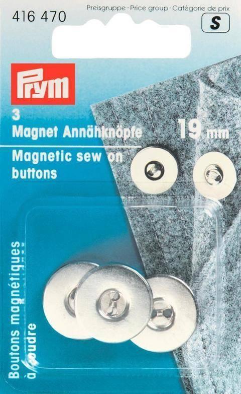 Magnet-Annähknöpfe von Prym kaufen im Makerist Materialshop