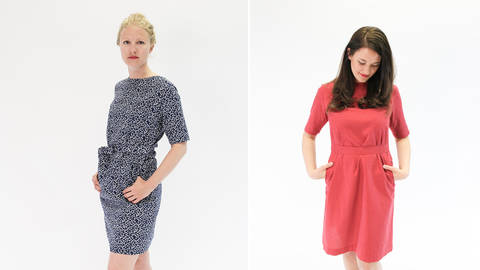 Schnittmuster kleid ohne reissverschluss