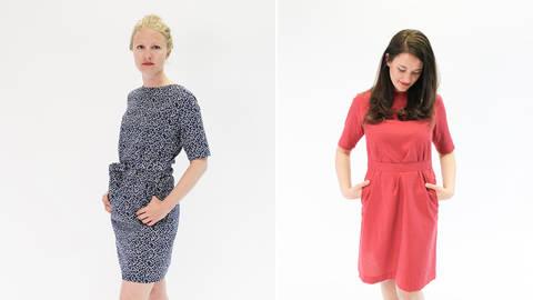 Sommerliches Kleid Eve Nähset kaufen im Makerist Materialshop