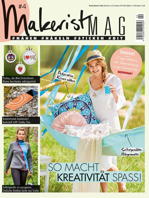 Makerist Mag #4 - Magazin für den Handmade Lifestyle kaufen im Makerist Materialshop