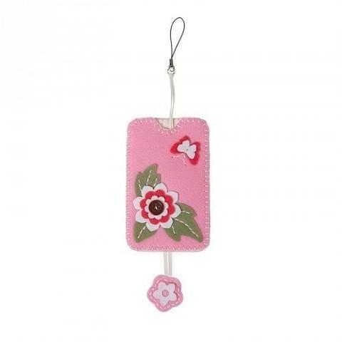 Filzbastel-Set Handytasche rosa kaufen im Makerist Materialshop