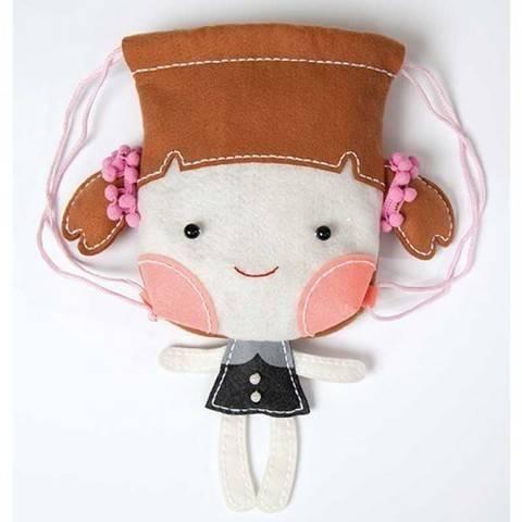 Filzbastel-Set Puppenrucksack kaufen im Makerist Materialshop