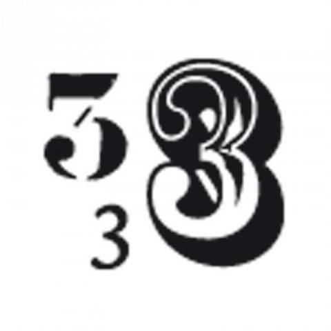 """Stempel """"3"""" 3,5x3,5cm kaufen im Makerist Materialshop"""