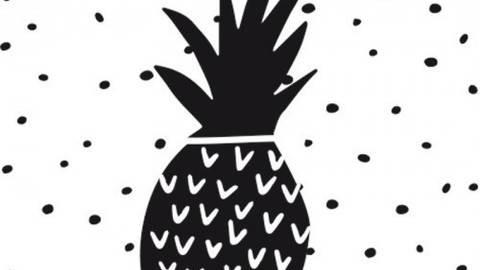 Stempel Ananas 4x4cm kaufen im Makerist Materialshop