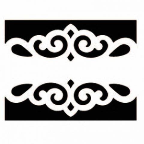 Bordürenstanzer groß Schnörkel 4x5cm kaufen im Makerist Materialshop