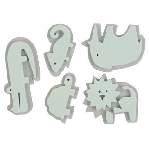 """Moosgummistempel Set """"Zoo"""" kaufen im Makerist Materialshop"""