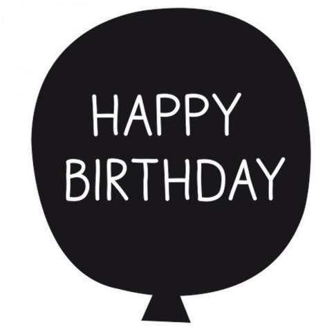 """Stempel Ballon """"Happy Birthday"""" 4x4cm kaufen im Makerist Materialshop"""