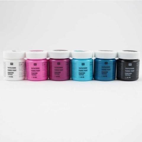 Textilfarben Fashion 6x40ml kaufen im Makerist Materialshop