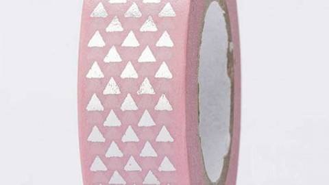 Tape Dreiecke silber Hot Foil 15mm 10m kaufen im Makerist Materialshop