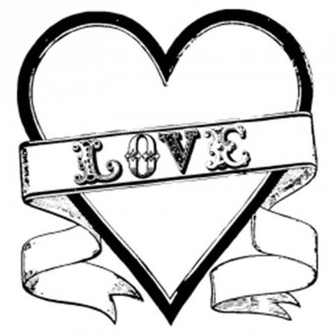 "Stempel ""Love"" 9x9cm kaufen im Makerist Materialshop"