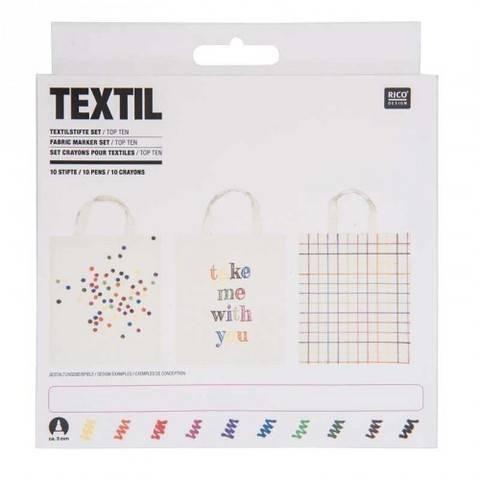 Textilstifte Basic 10 Stück kaufen im Makerist Materialshop