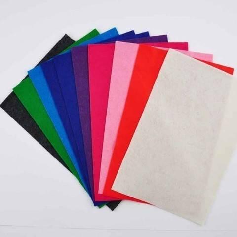 """Filzplatten-Set """"Fashion 2"""" 20x30cm 10 Farben kaufen im Makerist Materialshop"""
