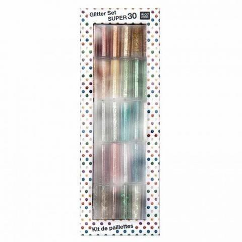 Glitter Set 30-teilig kaufen im Makerist Materialshop