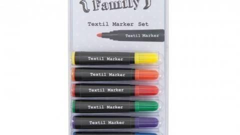 Textil Marker Basic 8 Farben kaufen im Makerist Materialshop